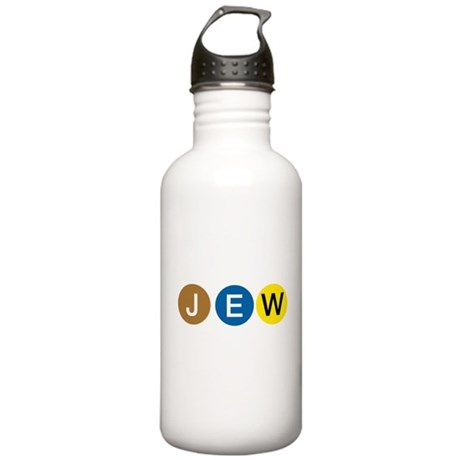 J E W Stainless Water Bottle 1.0L