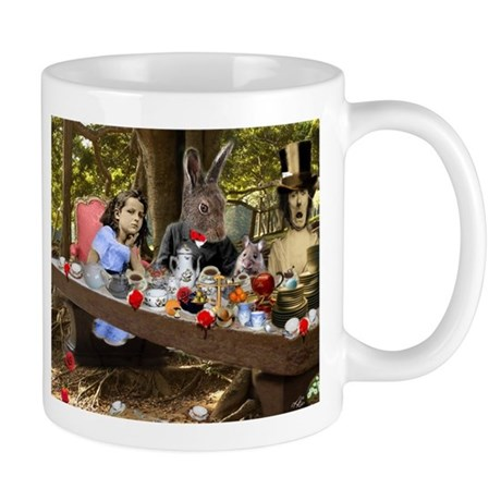 A Mad Tea Party (crop) Mug