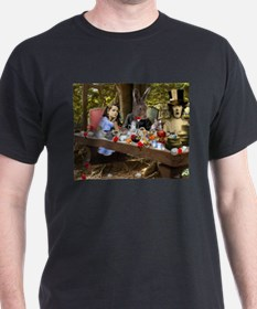A Mad Tea Party (crop) T-Shirt