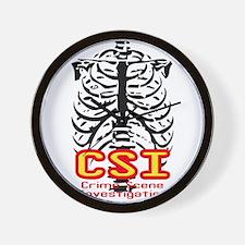 CSI Crime Scene Investigation Wall Clock