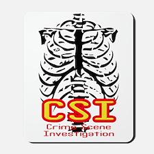 CSI Crime Scene Investigation Mousepad