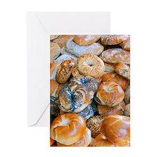 New York Bagel Greeting Card