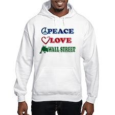 Peace Love Snowboard Hoodie