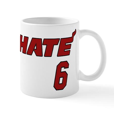 Hate 6 Mug