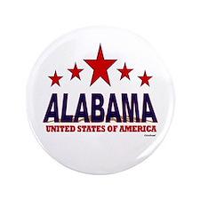 """Alabama U.S.A. 3.5"""" Button"""