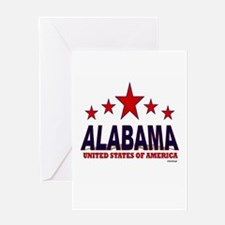 Alabama U.S.A. Greeting Card