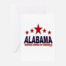 Alabama U.S.A. Greeting Cards (Pk of 20)