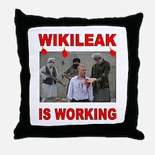 WIKILEAK TERRORISTS Throw Pillow
