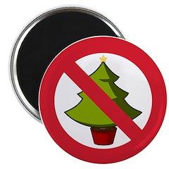 No Christmas Magnet
