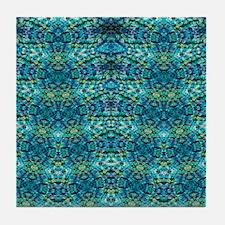 Bluzure 2 Tile Coaster
