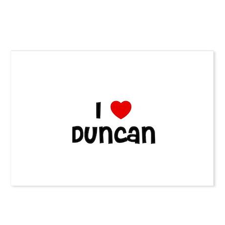 I * Duncan Postcards (Package of 8)