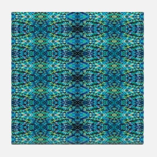 Bluzure 3 Tile Coaster