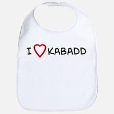 I Love Kabaddi Bib