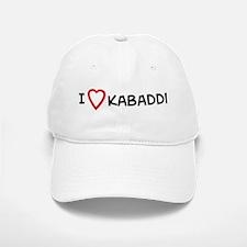 I Love Kabaddi Baseball Baseball Cap