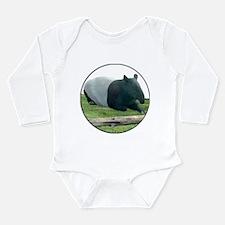 Helaine's Tapir Long Sleeve Infant Bodysuit