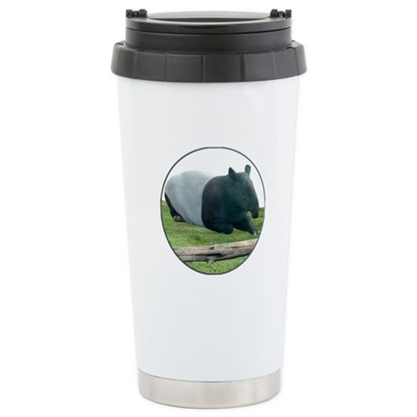 Helaine's Tapir Stainless Steel Travel Mug