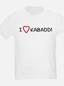 I Love Kabaddi Kids T-Shirt