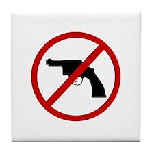 Anti Gun Tile Coaster