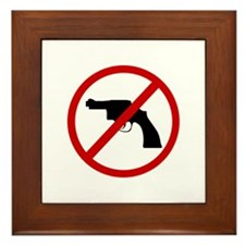Anti Gun Framed Tile
