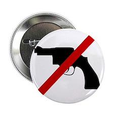 """Anti Gun 2.25"""" Button"""