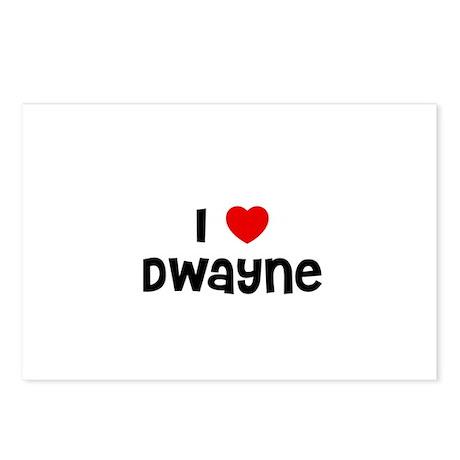 I * Dwayne Postcards (Package of 8)