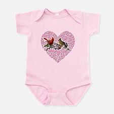Cardinal pair Infant Bodysuit