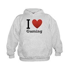 I Love Gaming Hoodie