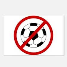 Anti Soccer Postcards (Package of 8)