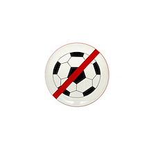 Anti Soccer Mini Button