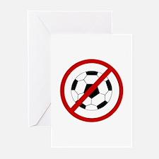 Anti Soccer Greeting Cards (Pk of 10)