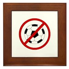 Anti Soccer Framed Tile