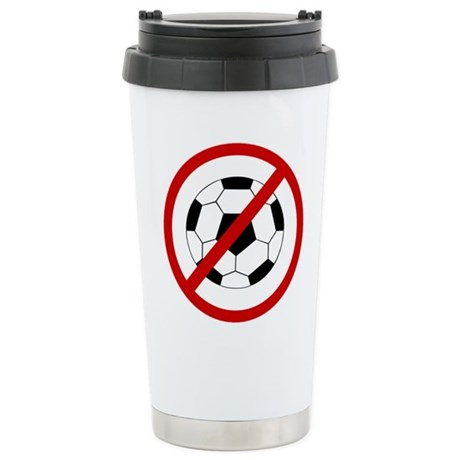 Anti Soccer Stainless Steel Travel Mug