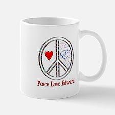 Peace Love Edward Mug