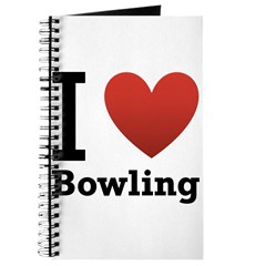 I Love Bowling Journal