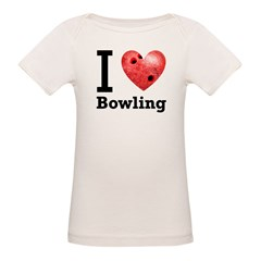 I Love Bowling Tee