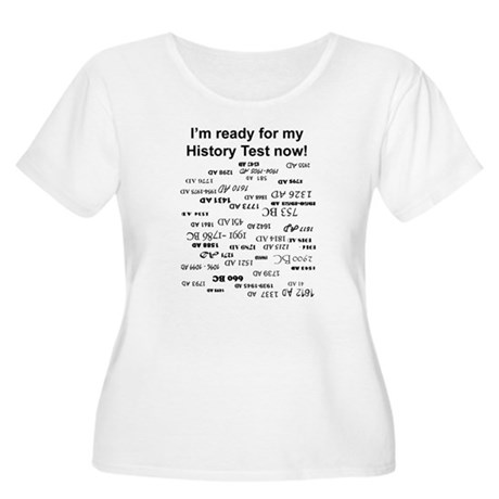 History Test Women's Plus Size Scoop Neck T-Shirt