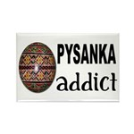Pysanka Addict Rectangle Magnet (10 pack)