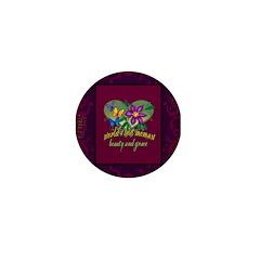 Beautiful Memaw Mini Button (100 pack)