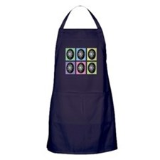 Pop Art Pysanka Apron (dark)