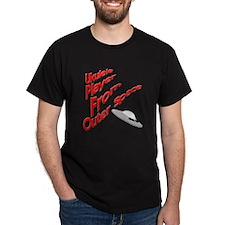 Funny UFO Ukulele T-Shirt