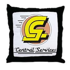 Central Services Throw Pillow