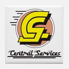 Central Services Tile Coaster