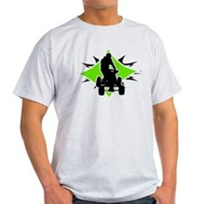 Quad Black and Green T-Shirt