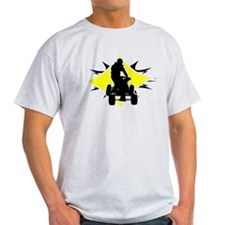 Quad Black and Yellow T-Shirt