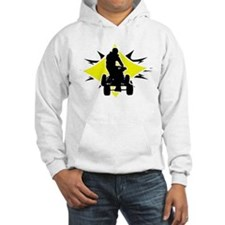 Quad Black and Yellow Hoodie