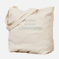 My other car is a KENWORTH Tote Bag