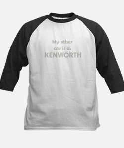 My other car is a KENWORTH Kids Baseball Jersey
