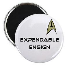"""Expendable Ensign Star Trek 2.25"""" Magnet (100 pack"""