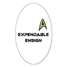 Expendable Ensign Star Trek Decal