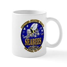 US Navy Seabees We Build, We Fight Mug